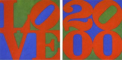 Robert Indiana, 'Love / 2000 (Diptych)', 2000