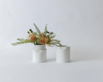 Elvire Bonduelle, 'Écrous [Vase Pair]', 2019
