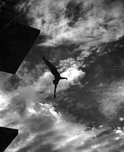 Leni Riefenstahl, 'Dive from 10 Meters Tower', 1936