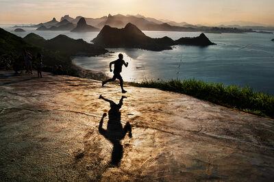 Steve McCurry, 'Man Runs at Dawn (Brazil)', 2012