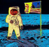 Andy Warhol, 'Moonwalk, Yellow (Feldman & Schellmann II.404)', ca. 2020