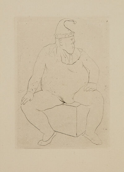 Pablo Picasso, 'Le Saltimbanque au repos, from La suite des Saltimbanques', 1905