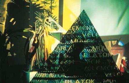 Áron Gábor, 'Pyramid', 1989