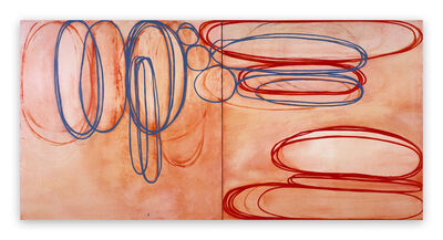 Jill Moser, 'Blushing Blue', 2003