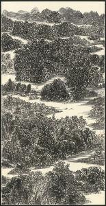 Yu Peng (TAIWANESE, 1955-2014), 'Sunshine Illuminates the Crystalline Water of the River', 1989