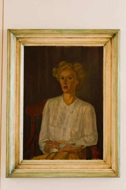 Pedro Correia de Araújo, 'Portrait - Lili Correia de Araújo', 1935
