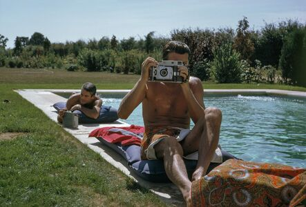 Tony Vaccaro, 'Givenchy by the Pool, South of Paris, France, 1961 '