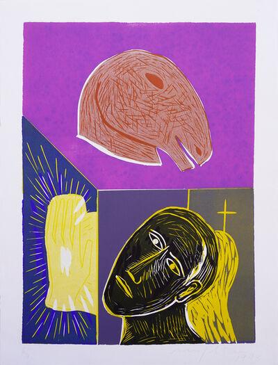 """Mimmo Paladino, 'Untitled (from the Portfolio """"Für die Pinakothek der Moderne"""")', 1993"""