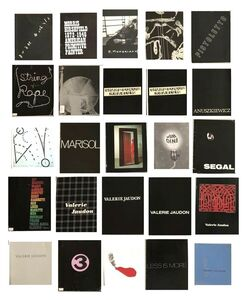 Arman, '(25) Exhibition Catalogues, 1961-91, Sidney Janis Gallery NYC.', 1961-91