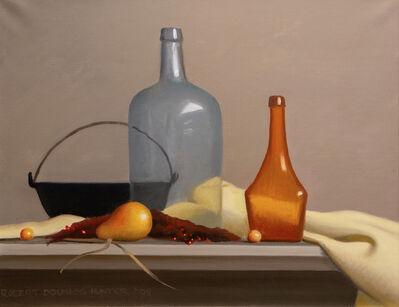 Robert Douglas Hunter, 'Arrangement with Two Bottles and an Iron Kettle', 2009
