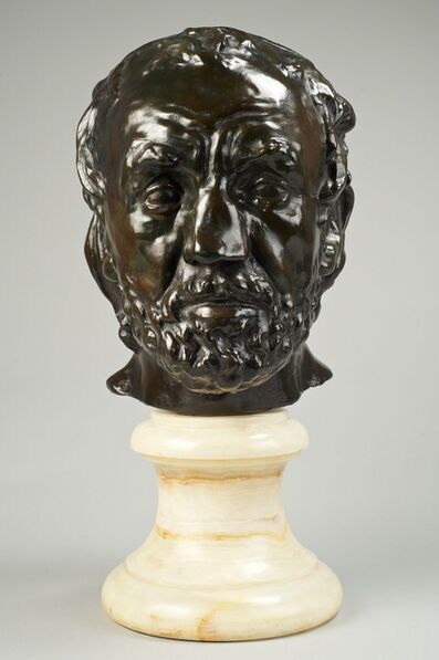 Auguste Rodin, 'Masque de l'Homme au Nez Cassé (Mask of A Man With A Broken Nose)', Conceived between 1863, 1864, this example cast between 1919, 1923