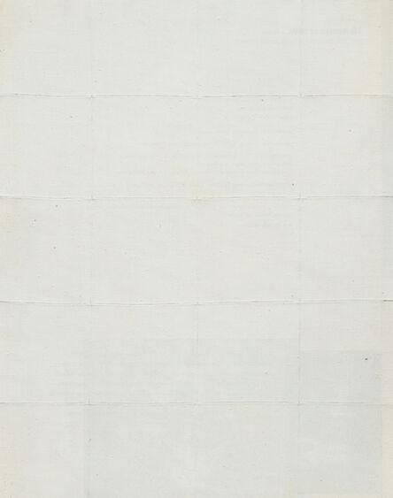 Piero Manzoni, 'Achrome', 1959