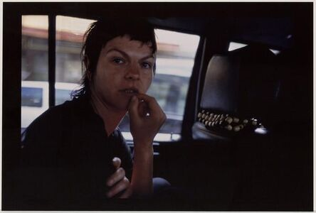 Nan Goldin, 'Valerie in the Taxi, Paris', 2001