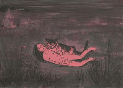 Aleksandra Waliszewska, 'Untitled (Gril with The Cat)', 2016