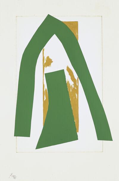 Robert Motherwell, 'Cathedral II', 1977