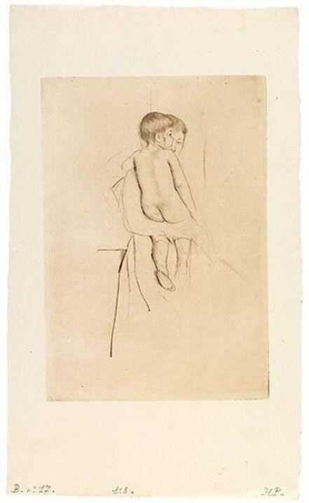 Mary Cassatt, 'Baby's Back', 1890