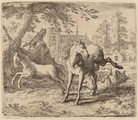 Allart van Everdingen, 'The Mare and the Wolf', probably c. 1645/1656