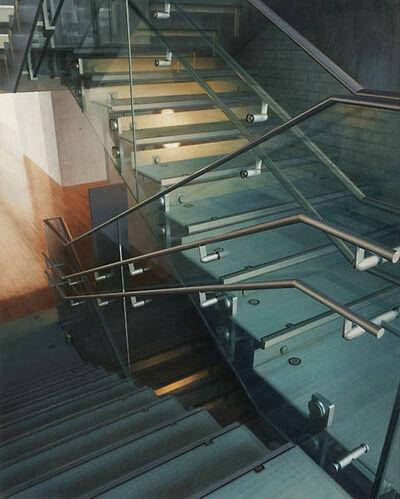 Hisaya Taira, 'Stairway #10- Library', 2011