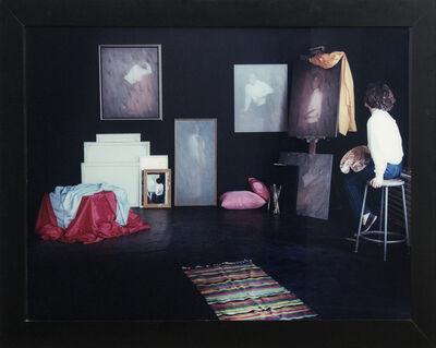Sorel Cohen, 'Atelier Noir et Blanc 2/2 - conceptual, female portrait, c-print photograph', 1986
