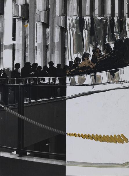William Wegman, 'Untitled (Double Vision) World Trade Center', 1979