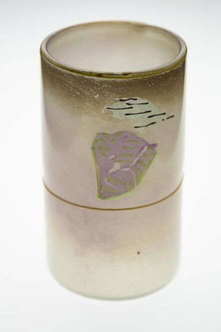 Dale Chihuly, 'Dale Chihuly  Rare 1979 Signed Blanket Series Glass Cylinder All Offers Considered', 1979