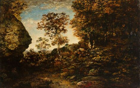 Ralph Albert Blakelock, 'Edge of the Forest', 19th -20th Century