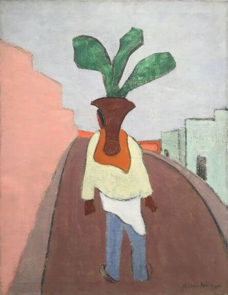 Milton Avery, 'Mexican Flower Vendor', 1946