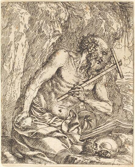 Jonas Umbach, 'Saint Jerome Penitent'