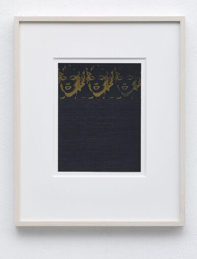 Frank Gerritz, 'Three Golden Marilyns', 2016