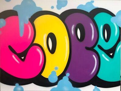 Cope2, 'Multi-Colored Bubble 2', 2019