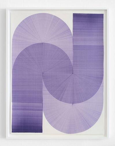 Thomas Trum, 'Two Blue Lines 19', 2020