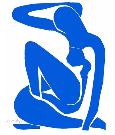 After Henri Matisse, 'Nu Bleu 1', 2007