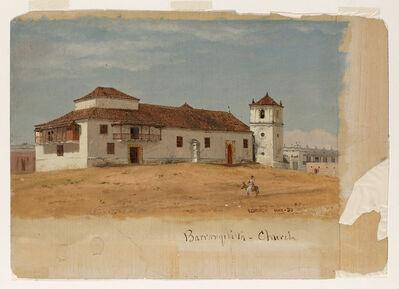Frederic Edwin Church, 'Colombia, Barranquilla Church', 1853