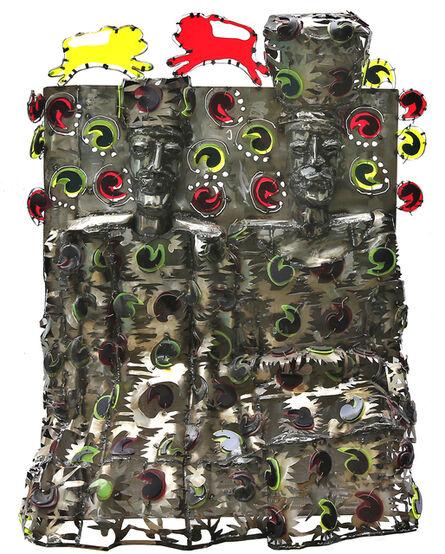Sokari Douglas Camp, 'Colour Paisley ', 2008
