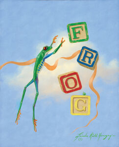 Linda Ridd Herzog, 'Frog', Contemporary