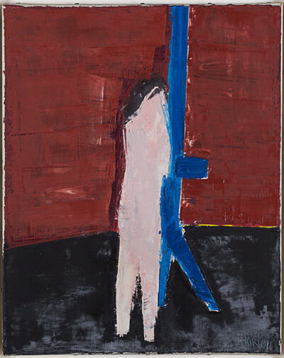 Peter Kinley, 'Figure with Easel (I)', 1962