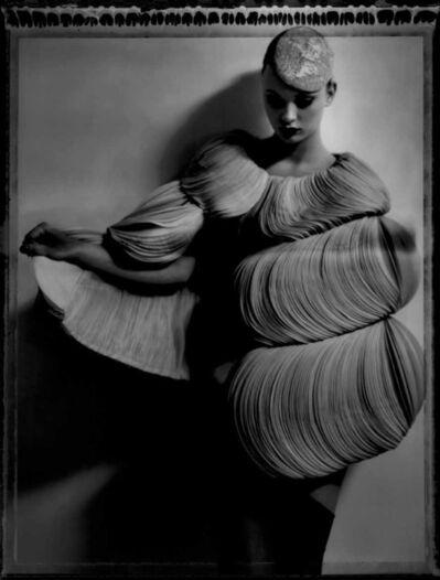 Cathleen Naundorf, 'Valentino en rose, Valentino Haute Couture Winter 2007, Number 59, Atelier d'artiste - cite jandelle, Paris, December 19', 2007