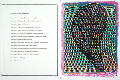 Terry Winters, 'Sometimes times: Prints and poems', 2017