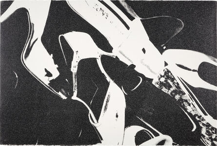 Andy Warhol, 'Diamond Dust Shoes (Black and White)', 1980