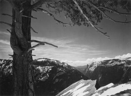 Ansel Adams, 'On the Heights, Yosemite Valley, California', 1927-printed circa 1935