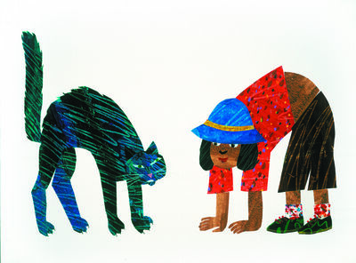 """Eric Carle, ' Illustration from """"From Head to Toe""""', 1997"""
