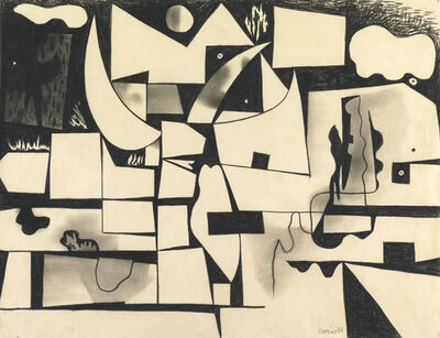 Caziel, 'Nocturne', 1951