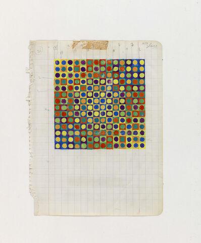Julio Le Parc, 'jet couleur n° 2 (Color Project n° 2)', 1959