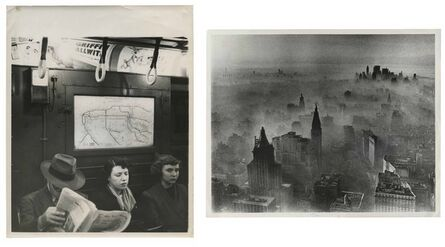 Murray Moss, 'TQ 31/32: New York Subway/New York Smog', 1948/1977