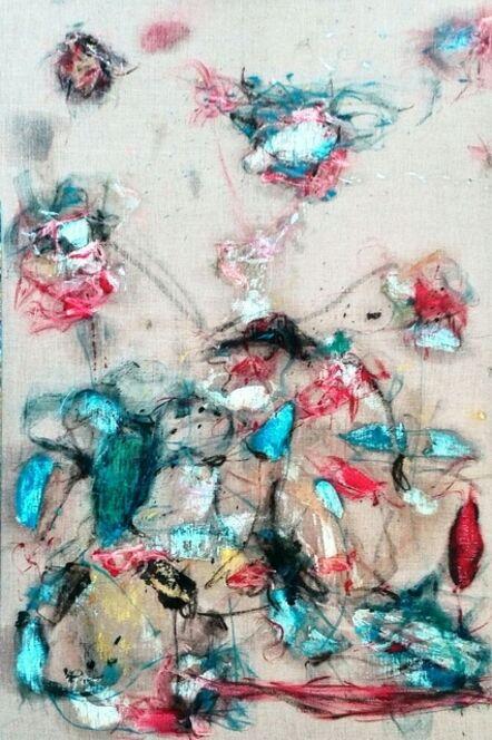 Cristóbal Ortega, 'Sudoración azul Greco', 2014