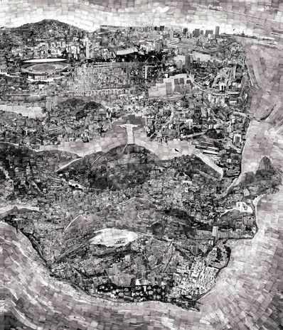 Sohei Nishino, 'Diorama Map, Rio de Janeiro', 2011
