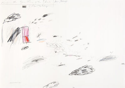 Cy Twombly, 'Untitled', 1961-1963