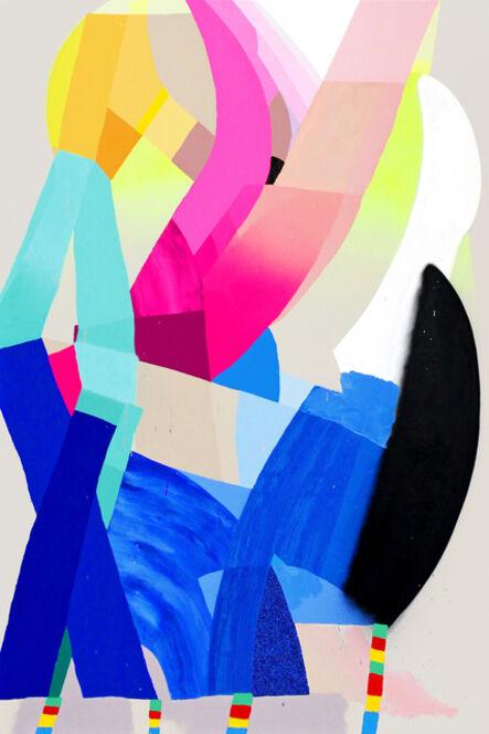 Ludovilk Myers, 'Rainbow in the dark', 2020