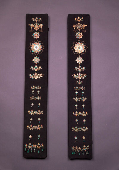 Unknown Artist, 'Gold Dress Accessories with Precious Stone Inlays', Tang dynasty-618–907