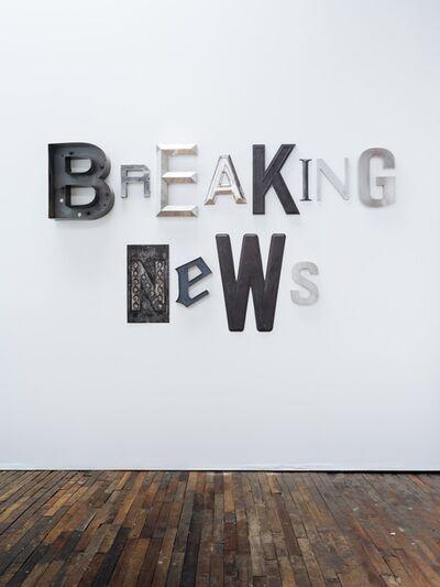 Jack Pierson, 'BREAKING NEWS', 2021